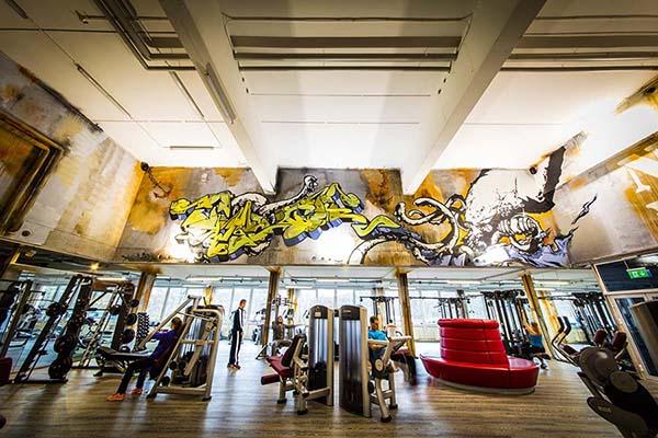 Fitnessfabrik Griesheim Trainingsfläche