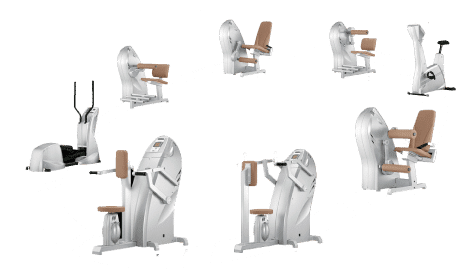 Milon Zirkeltraining Geräte in der Fitnessfabrik