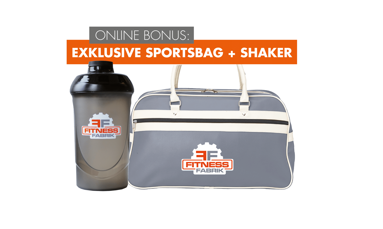 Online Bonus Sportsbag und Shaker Darmstadt
